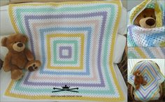 Unisex Joseph blanket. Made from machine washable acrylic yarn. A cellular pattern which means that the blanket will retain heat but also keep baby/child cool if needed. Cot sized blanket in photo.  Available to order upon request mailto:kcac.uk@gmail.com
