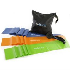 Therapy Flat Resistance Bands Set, Orange