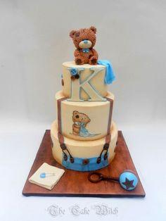 Little boy bear cake