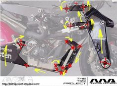 britten motorcycle suspension - Google Search