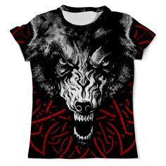 Крутяк!!! #футболка #wolf #волк