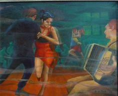 "Saatchi Art Artist Brian West; Painting, ""Tango Argentino"" #art"
