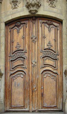 Door, San Sebastian, Spain by cocoi_m, via Flickr
