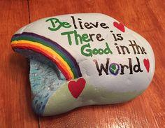 Kindness Matters, Kindness Rocks, Stone Painting, Painting Art, Inspirational Rocks, Rock Painting Designs, You Rock, Heart Art, Stone Art