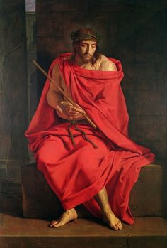 Mocking of Christ by Phillipe de Champaigne.