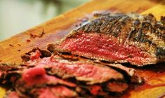 Quick and Easy Pan-Fried Flank Steak ~ A quick and easy way of cooking lean flank steak on the stovetop. ~ SimplyRecipes.com