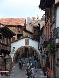 Pueblo Espanol, Barcelona, Spain