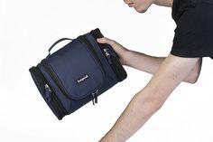 Men Toiletry Travel Bag Shave Kit Dopp Shaving Cosmetic Accessory Organizer Case #InsigniaX