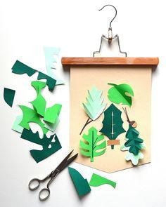 PapierAtelier Botanische prent 1