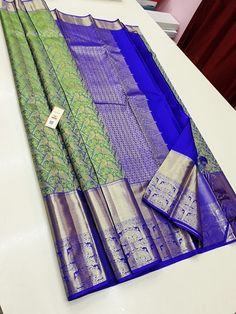 Pattu Sarees Wedding, Wedding Silk Saree, Half Saree Designs, Silk Saree Blouse Designs, South Indian Wedding Saree, Silk Saree Kanchipuram, Wedding Saree Collection, Traditional Silk Saree, Indian Silk Sarees