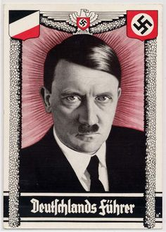 Adolf Hitler postcard.