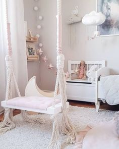 Glamour Swing - Pink #SwingChair