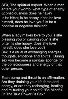 share sex only with similar love energy. Sex is a spiritual journey. be mindful what energy you are connecting with Sex And Love, Love You, Never Be Alone, Tantra, Spiritual Awakening, Healthy Relationships, Deep Thoughts, Consciousness, Knowledge