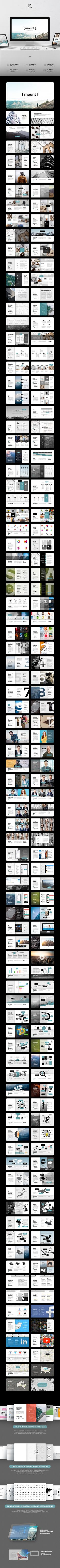 Mount Powerpoint PPTX #easy #business • Download ➝ https://graphicriver.net/item/mount-powerpoint/21460974?ref=pxcr