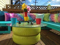 13 DIY furniture for Garden and Terraces | Design & DIY Magazine