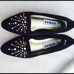 Brand new! Jubilee studded flats New!!! Jubilee studded flats. Heel is about 2 cm. Jubilee Shoes Flats & Loafers