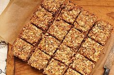 Millet Breakfast Bars / momskitchenhandbook