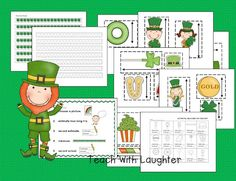St. Patrick's Day Non- Standard Measuring and Estimating.  You'll also find a little freebie on the post.