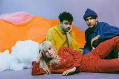 paramore, hayley williams, and zac farro image Hayley Paramore, Paramore Hayley Williams, Taylor York, Pop Punk, Paramore Wallpaper, Paramore After Laughter, Into The Fire, Mikey Way, Emo Bands