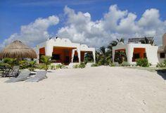 Beach front boutique hotel near Mahahual, Mexico