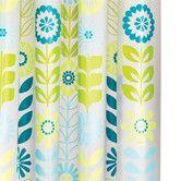 Found it at Wayfair - Mod Floral PEVA Shower Curtain