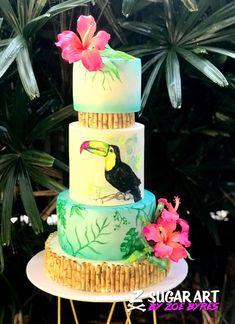 Toucan Tropics by Sugar Art by Zoe Byres