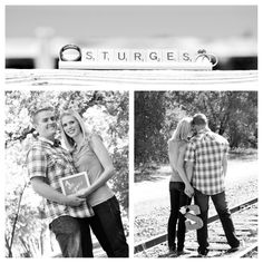 anniversary photo shoot - I like the Scrabble idea since I didn't do it for our wedding!