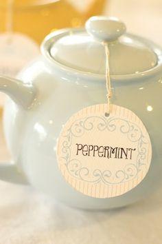 Peppermint Tea!