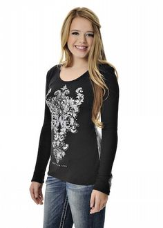 Lace Top - Black – Girls With Guns®