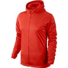 Nike Ladies Shield Wind Golf Jackets - Lt Crimson   via @lorisgolfshoppe