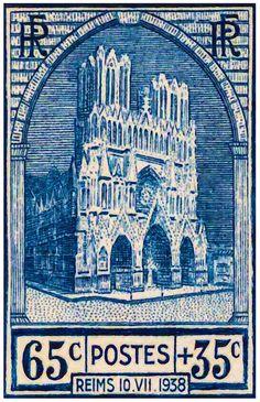 I uploaded new artwork to fineartamerica.com! - 'Reims 10.vii.1938 Stamp' - http://fineartamerica.com/featured/reims-10vii1938-stamp-lanjee-chee.html via @fineartamerica