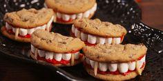 Postres Halloween, Dessert Halloween, Halloween Cookies, Halloween Decorations, Party Desserts, Holiday Desserts, Holiday Recipes, Party Recipes, Hallowen Food
