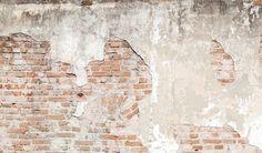 "Fototapete / Design Tapete ""Beton/Wand/Backsteine/Mauer"" B372cm x H260cm in…"