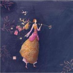 Carte Gaëlle Boissonnard - Le grand départ - 14x14 cm