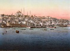 The imperial capital at Constantinople combined the disparate cultures under Ottoman rule. The new rulers restored the city after 1453; the church of St. Sophia became one of Islam's grandest mosques.