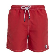 Tom & Teddy Boys' Swim Trunks Tomato Red