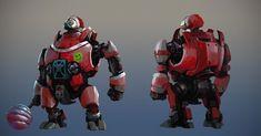 Ironkill App Game Artwork -- The robot for Chritmas Concept Art, Jay  Wong  on ArtStation at https://www.artstation.com/artwork/ironkill-app-game-artwork-the-robot-for-chritmas-concept-art