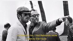 adieu au langage: jean luc godard — see more of this on tomorrow started blog
