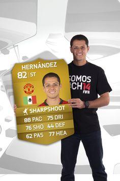 "Javier Hernández ""Chicharíto"" en #FUT #FIFA14"
