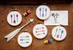 Mini Arrow Embroidery