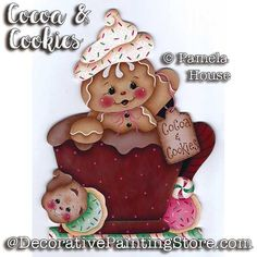 Visit the post for more. Gingerbread Decorations, Gingerbread Ornaments, Gingerbread Man, Gingerbread Cookies, Whimsical Christmas, Christmas Candy, Christmas Cookies, Christmas Crafts, Holiday