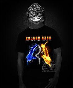 Kaos Sunda Kujang Naga