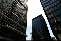 Toronto Financial District (Mark A. Cadiz, Skyscraper, Toronto, Multi Story Building, Skyscrapers