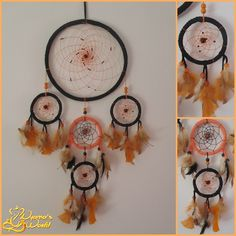 Dreamcatcher: 28cm in diameter x 88cm long.  Price: MP  Accepted orders.