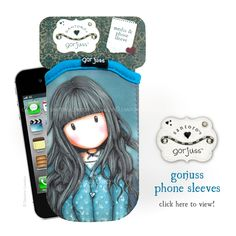 New Gorjuss iphone and media sleeves: Latest news from Santoro!