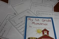 Share year end memories in this special printable memory book!
