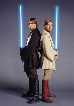 Anakin Skywalker and Obi Wan Kenobi