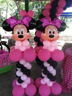Decoraciones en globos tematicas disney - Servicio de Fiestas - Miami
