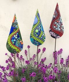 Glass garden mosaics- serpentine collection