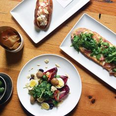Barchetta boasts an innovative brunch menu, which can include lobster rolls, colorful salads and flatbread with Asian pear and prosciutto.